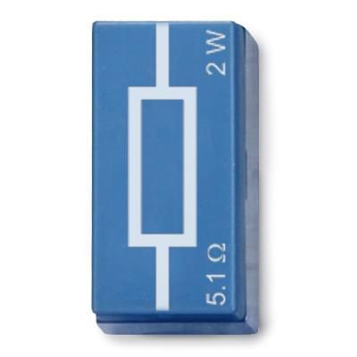 Lineární rezistor 5,1 Ω, 2W