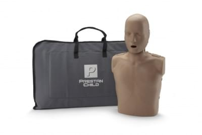 Prestan KPR-AED figurína dítěte s KPR monitorem