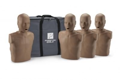 Prestan KPR-AED figurína dítěte s KPR monitorem - balení 4 ks