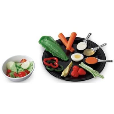 Sada pro vytvoření zdravého salátu