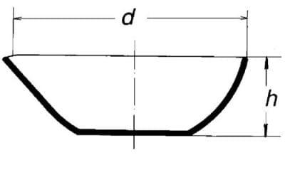 Miska křemenná, odpařovací, s výlevkou, ploché dno, 15 ml