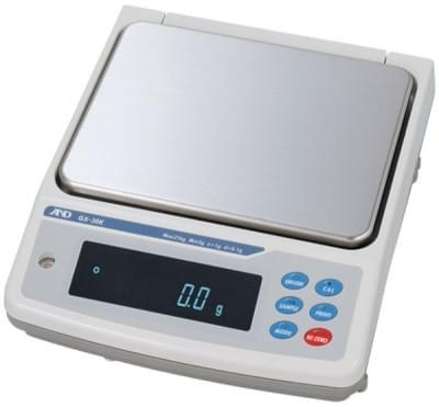 Váha A&D série GX-K - Přesné váhy s vnitřní kalibrací a krytím IP65