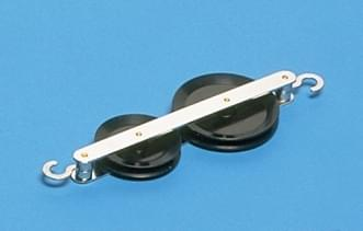 1227 - Jednoduchá kladka průměr 50 mm