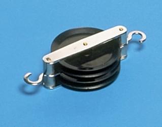 1160 - 2 souběžné kladky průměr 50 mm