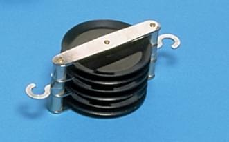 1266 - 3 souběžné kladky průměr 50 mm