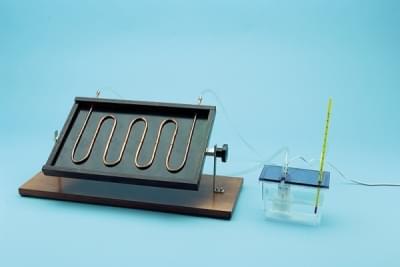2000 – Solární ohřívač vody