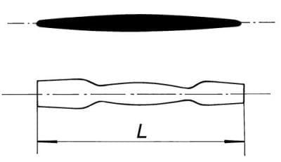 Kopisť dvojitá, 250 mm