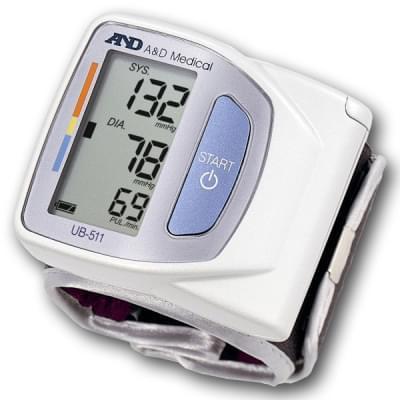 Tonometr UB-511 - zápěstní měřič krevního tlaku