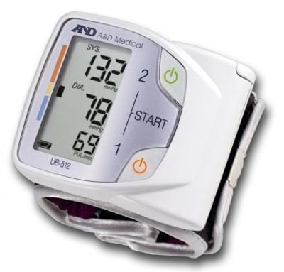 Tonometr UB-512 - zápěstní měřič krevního tlaku