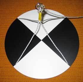 Secciho deska kruhová - Měření průhlednosti vody