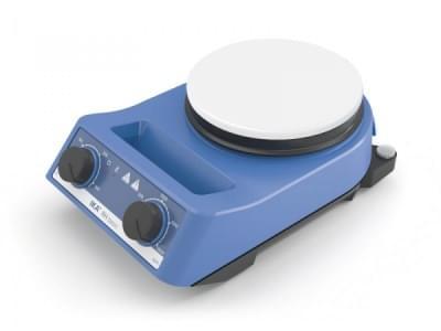 RH basic white - Magnetická míchačka s ohřevem, max. objem 15l