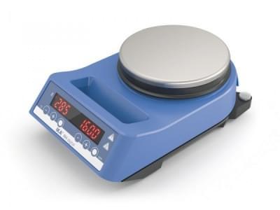 RH digital - Magnetická míchačka s ohřevem, max. objem 15l