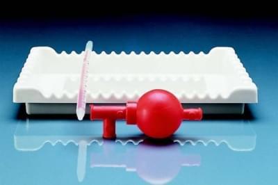 Podnos hluboký na pipety, PVC - 285x215x40 mm
