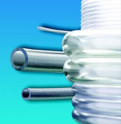 Hadice z měkčeného PVC, průsvitná, nezávadná, vnitřní průměr 5 mm - 5 x 6,5