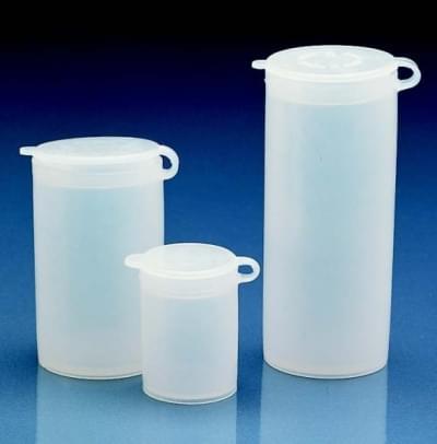 Nádoba na vzorky, LDPE, těsně zapadající výklopné víčko, 50 ml