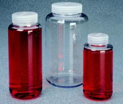 Láhev centrifugační, PC, max. zátěž 13 700 × g, 500 ml