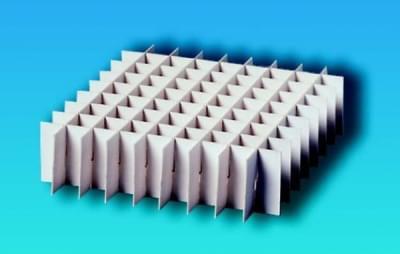 Mřížka do kryoboxů, 136 × 136 mm, 10 x 10 míst