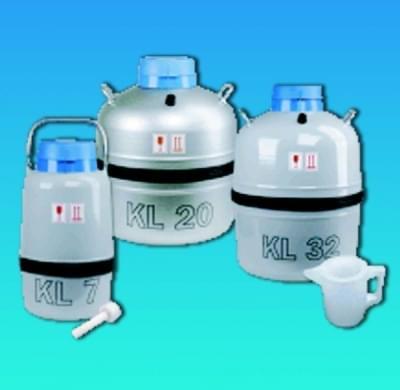 Nádoba dewarova laboratorní (zásobník na kapalný dusík - LN2, 6,6 l