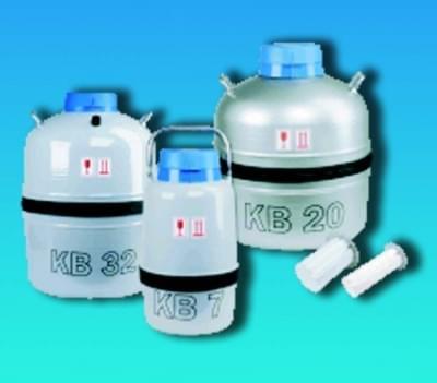 Nádoba dewarova biologická (zásobník na kapalný dusík - LN2), 30,5 l