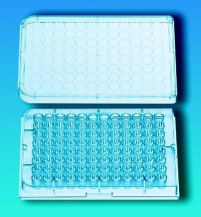 Destičky mikrotitrační, sterilní, PS, kulatý profil jamky