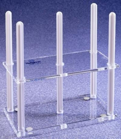 Stojan na Petriho misky, pro misky o průměru 100 mm