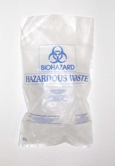 Pytel na biologický odpad BIOHAZARD