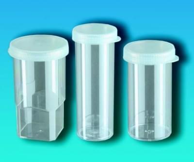 Nádoba na vzorky s víčkem, PS, Analyzátory - Al® a Linson®