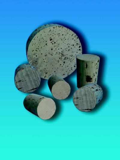 Zátka korková, kónická, horní průměr 24 mm, dolní průměr 21 mm, výška 27 mm