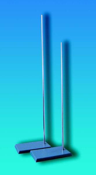 Stojan laboratorní s kovovou deskou a šroubovací tyčí, délka tyče 1 000 mm