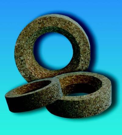 Podstavec korkový pro baňky s kulatým dnem, průměr 170 mm