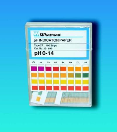 Indikátorové papírky WHATMAN, pH 1,8 - 3,8, Typ - CS
