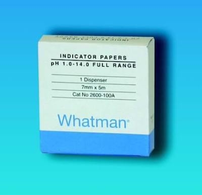 Indikátorové papírky WHATMAN, pH 1 - 11, Typ - TC