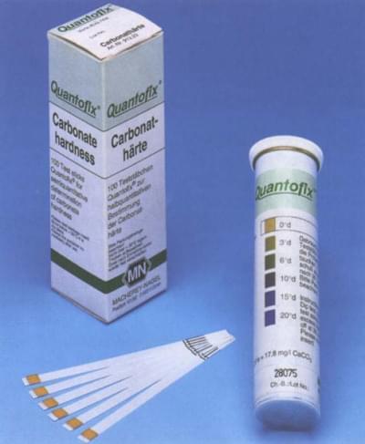 Proužky testovací QUANTOFIX - pro semikvantitativní analýzu, CO32