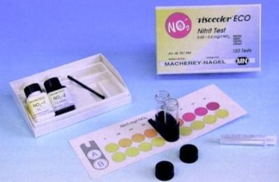 Kity analytické VISOCOLOR ECO - pro kolometrickou nebo odměrnou analýzu vody, NH4+