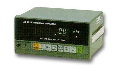 AD-4329 EC - Jednotka vyhodnocovací