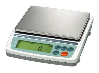 EW-1500i-EC - Váha kompaktní třírozsahová, max. kapacita 1500g