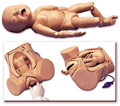 S500.5 - Novorozenec Susie pro Leopoldovy manévry a výuku porodu