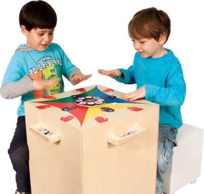 FUNTABLE - Zábavný stůl 2v1 pro mateřské školky a školy