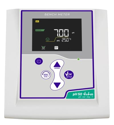 Laboratorní pH-metr, pH 50 Violab, + pH sonda CHS Chemflex NTC30