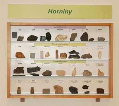 Vitrína - Horniny