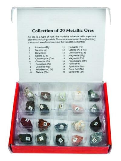 HS2251 – Sada 15 rud běžných kovů