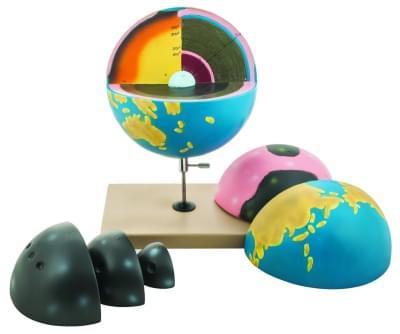 HS610 – Fyziografický obrysový model Země