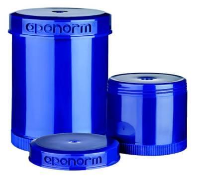35235 Topitec dávkovací kelímek s výtlačným pístem (modrá/modrá) 150g/185ml