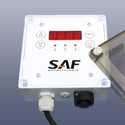 KM-EC1010 - Elektronický regulátor k topným pásům a kabelům, připojení napájecí kabel