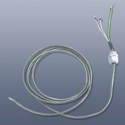 KM-HT-CN-027 - Topný pás s teflonovou (PTFE) izolací, do 260°C, IP 64, 8 x 4 mm délka 2,7 m