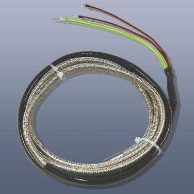 KM-HT-G-7 - Topný pás s izolací ze skelné tkaminy, do 450°C, IP20, 12 x 8 mm délka 7 m