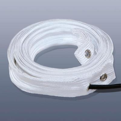 KM-HT-H-015 - Topný pás s izolací z křemíku, do 900°C, IP20, 30 x 5 mm délka 1,5 m