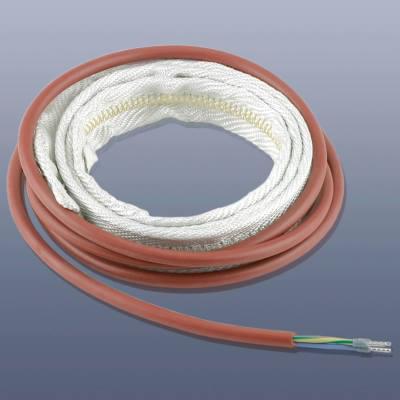 KM-HT-PSG-023 - Topný pás s teflonovou (PTFE) izolací, do 260°C, IP 64, 25 x 7 mm délka 2,3 m