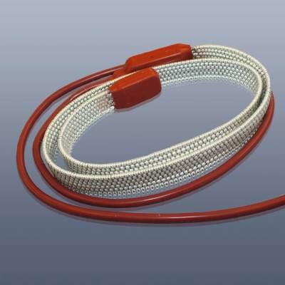 KM-HT-PSM-5 - Topný pás s teflonovou (PTFE) izolací, do 260°C, IP 64, 27 x 4 mm délka 5 m