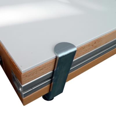 Krycí deska na pracovní plochu - 1300 × 550 × 6 mm